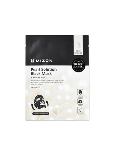 Mizon Mizon Pearl Solution Black Mask ınci Tozu ile Işıltı Artırıcı Maske Renksiz